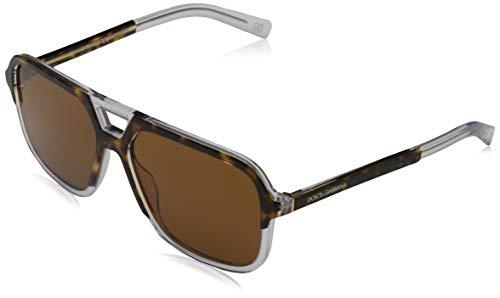 Sunglasses Dolce & Gabbana DG 4354 757/73 Top Havana On Crystal