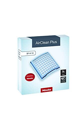Miele Original Zubehör SF H 10 AirClean Plus Filter / für besonders saubere Raumluft / sicherer Staubeinschluss / 1 Filter / für Staubsauger