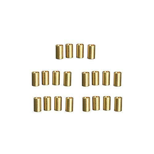 Sourcingmap Lot de 20 anneaux en cuivre pour macramé à suspendre au mur
