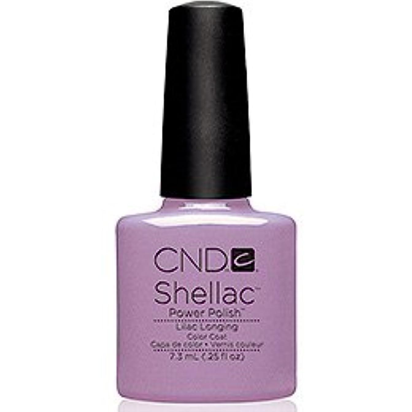 キャメル十分ではない覚醒CND シェラック UVカラーコート7.3ml 109 Lilac Longing