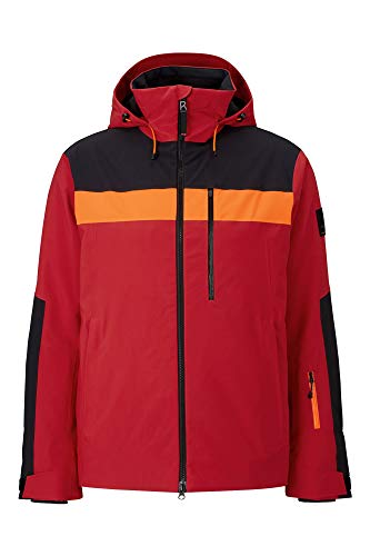 Bogner Fire + Ice Mens Talio-T Rot, Herren Regenjacke, Größe 48 - Farbe Signal