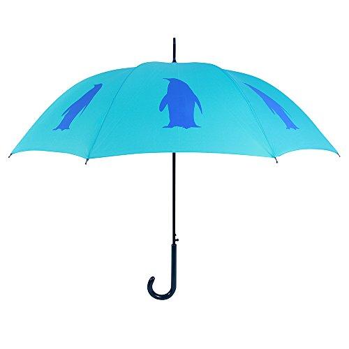 San Francisco Regenschirm CO, Zwei Ton Blau Pinguin Regenschirm