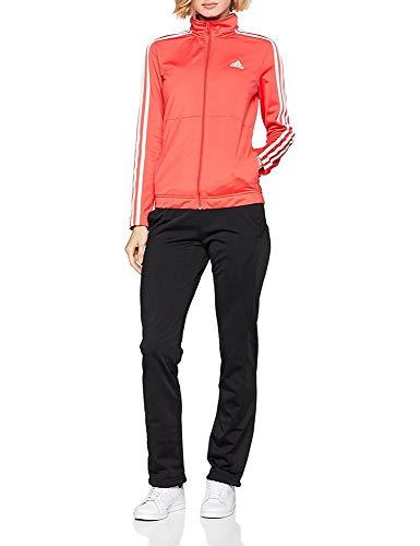 adidas back2bas 3S TS Trainingsanzug, Damen XXL Orange (Correa/Weiß/Schwarz)