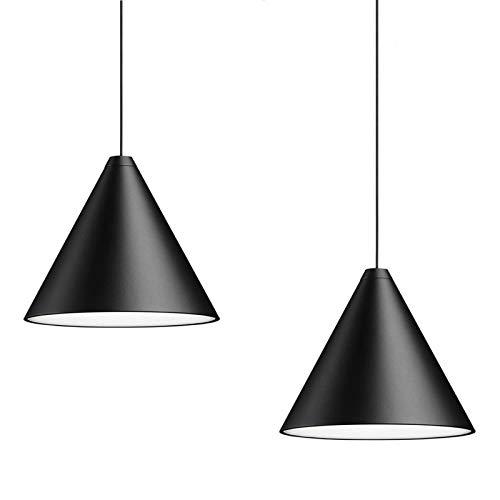 YINGYING Lampada a Sospensione a Sospensione a LED in Metallo a Cono Nordico a 1/3 Luci, Apparecchio...
