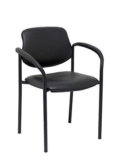 Piqueras Y Crespo 27NSPNVIII stoel met armleuningen, zwart