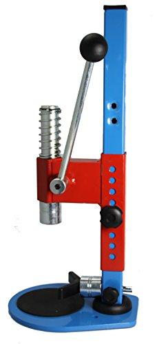 Bouchonnerie Jocondienne 215C Tappatrici Corona Metallo Blu E Rosso 24x 25,5x 54,5cm