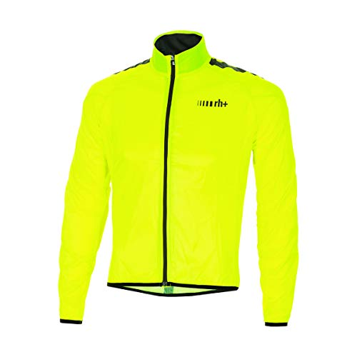 Rh+ Emergency Pocket Shell, Giacca Unisex Adulto, Giallo (Fluo Yellow/Black/Reflex), XL