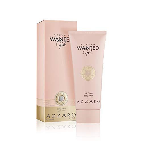 Azzaro Wanted Girl Body Lotion for Women - Hydrating Body Moisturizer - 6.8 Fl Oz