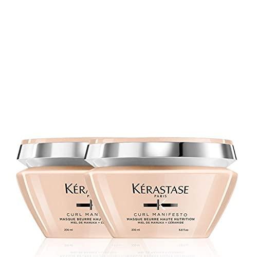 Kerastase Double Curl Manifesto Mascarilla nutritiva para el cabello, 200 ml