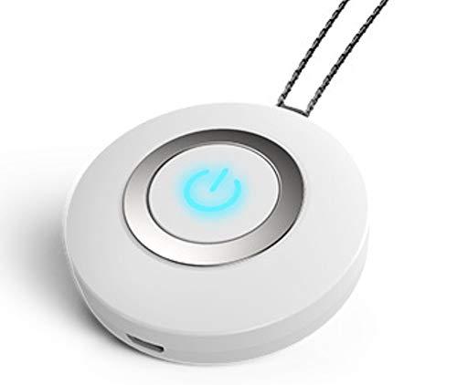 Collar Colgante Regalo De Joyería Cristal Purificador De Aire Portátil Collar Mini USB Portátil Filtro De Aire Generador De Iones Negativos Ambientador De Bajo Ruido