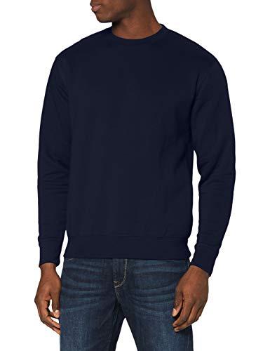 Fruit of the Loom Men's Set-In Premium Sweater, Deep Navy, Large