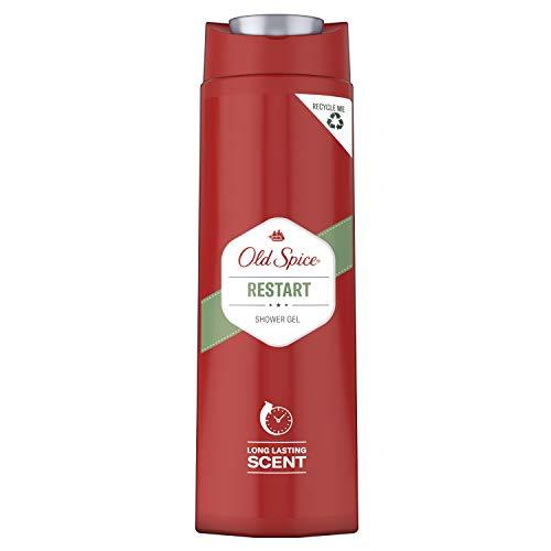 Old Spice Restart Duschgel | 400 ml | Showergel Mit Langanhaltendem Duft Für Männer | Herren Duschgel
