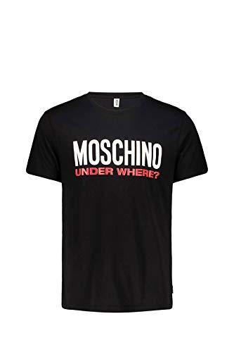 Moschino Uomo T-Shirt Con Stampa Nero Mod. 1915 8127 XS