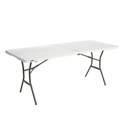 Lifetime Table pliante Blanc Granite 183 x 76 x 73,6 cm 80471