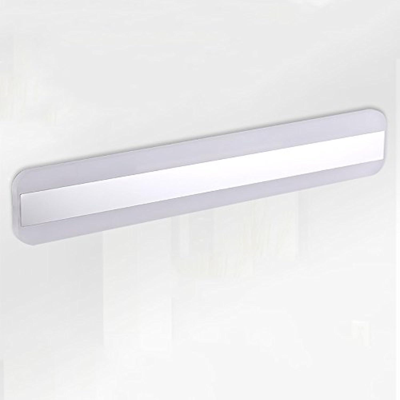 LJHA jingqiandeng LED Acryl Zweifarbiges Licht Spiegel Frontleuchte Einfaches Badezimmer Anti-Fog-Leuchten Schlafzimmer Wandleuchte Bad Wandleuchten (gre   41cm-16W)