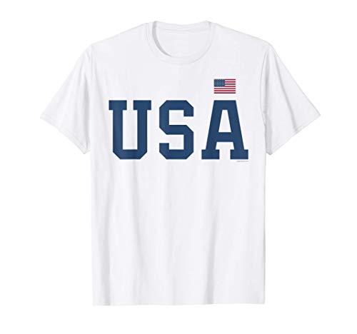 USA T Shirt Women Men Patriotic American Flag 4th of July T-Shirt