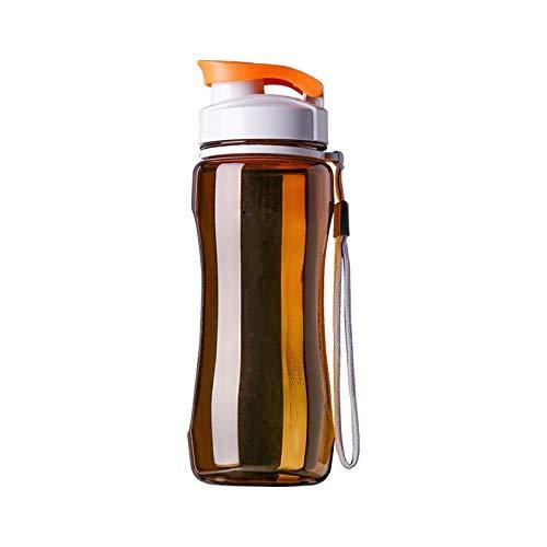 TYRBAGS Wasserflasche, Chilly Wasserflasche, einfaches und stilvolles Design, für Milch, Kaffee, Milchshake, Saft, Tee, etc., dunkles kaki, 720ml