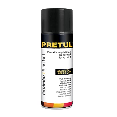 Pretul PA-NB-P, Pintura (Esmalte acrílico) en aerosol, negro brillante