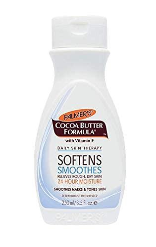 Crema hidratante de Palmer's, con formula de manteca de cacao
