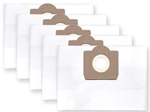 profilters 5x Staubbeutel Filtersack passend für BOSCH PAS 11-21; 12-27, 850, Gas 20 L, 15L, passend für TITAN TTB 430; VAC 350; VAC 351 usw.
