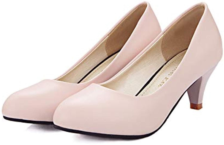 MENGLTX High Heels Sandalen 2019 Neue Ankunft Pumpt Frauen Schuhe Feste Farben High Heels Schuhe Flache Klassische Frühling Sommer Kleid Schuhe Frau B07QLX5WR7  Hochwertige Produkte