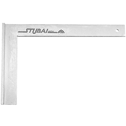 Stubai 263102 Escuadra de cerrajero metálica con tacón (150 mm), 150mm