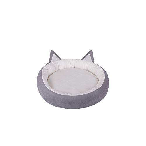 Cama para mascotas FBBHSH, cama para gatos y mascotas, para cuatro estaciones, caseta universal para perros pequeños, para mascotas, nido de peluche, gato, acolchado, suministros para perros extraíbles