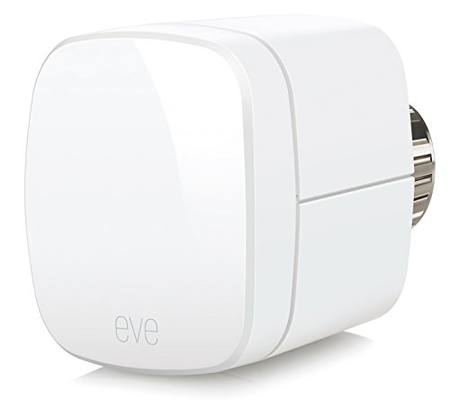 Elgato Eve Thermo (modèle précédent) - Vanne de radiateur thermostatique sans fil avec technologie HomeKit d'Apple, Bluetooth Low Energy