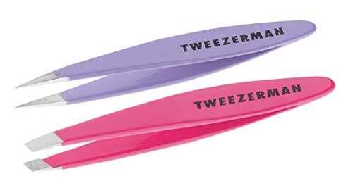 Tweezerman Mini Oval Slant and Point Combo