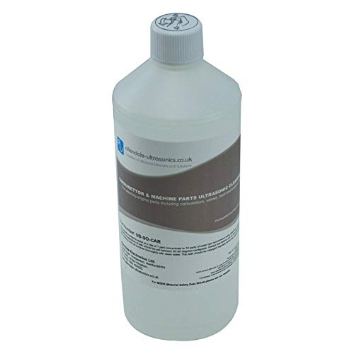 Carburettor, Machine, and Engine Parts Ultrasonic Cleaner Solution - 1 Litre Cleaning Fluid