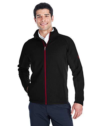 Spyder Men's Constant Full-Zip Sweater Fleece M Black/Blk/ Red