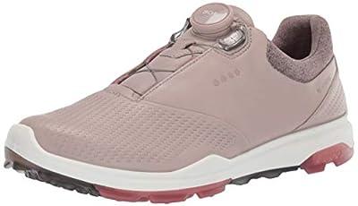 ECCO Women's Biom Hybrid 3 BOA Gore-TEX Golf Shoe, Grey Rose/Petal, 4-4.5
