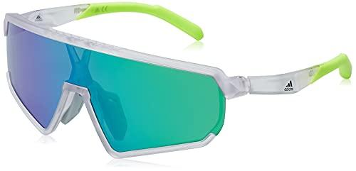 adidas Herren SP0017 Sonnenbrille, Kristall, Einheitsgröße