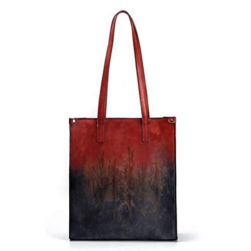 Rongjuyi kleur omhangtas mode boodschappentas handtas retro tas enkele praktische dames casual Big Bag