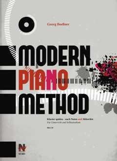 Modern Piano Method - arrangiert für Klavier - mit CD [Noten / Sheetmusic] Komponist: Boessner Georg