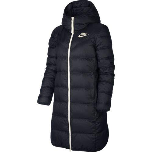 Nike Sportswear Windrunner Down Fill Parka, Damen XS schwarz/schwarz/Segel