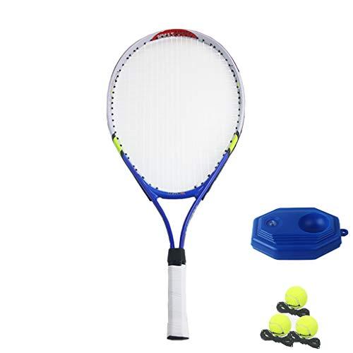 Raqueta de Tenis para Adultos Nueva, Material de Fibra de Carbono, Liviana, Adecuada para Deportes al Aire Libre