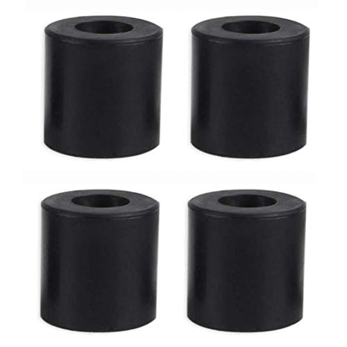 3D Printer Hot Bed Column Heatbed Silicone Leveling Column Heat-Resistant Stable Black Mounts Column Tools Accessaries 4 PCS,Power Tool Accessories
