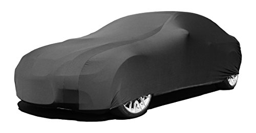 Indoor Car Cover Compatible with Audi R8 2006-2019 - Black Satin - Ultra Soft Indoor Material - Guaranteed Keep Vehicle Looking Between Use - Includes Storage Bag