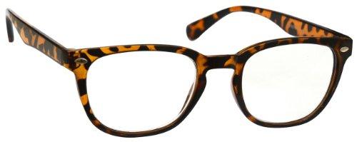 UV Reader Braune Schildpatt Kurzsichtig Fernbrille Für Kurzsichtigkeit Designer Stil Herren Frauen UVMR014 -1, 00 / Braune Schildpatt