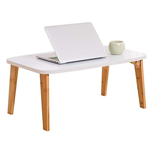 Mesa de Escritorio de computadora portátil multifunción, Soporte de Taza, (Tamaño: 60 cm) Escritorio (Size : 70CM)