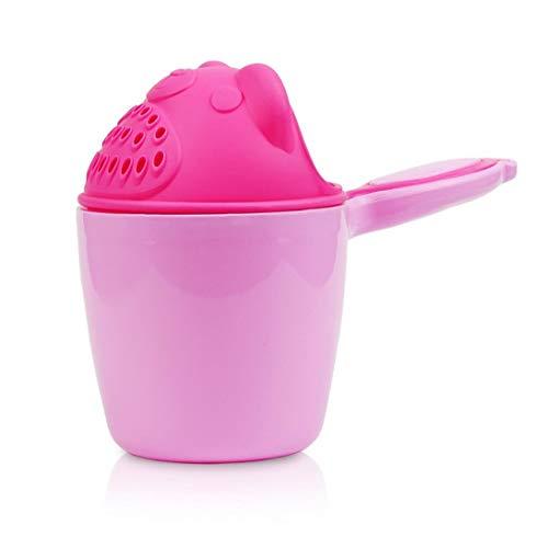 asdfwe Kinder-Cartoon Bad Rinser Multi-use Wasser Scoop Verdickte Schöpfkelle Dusche Sprinkler Shampoo Scoops Badespielzeug Für Baby-rosa