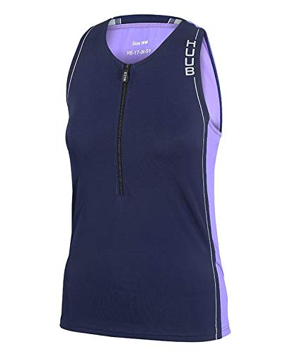 Huub Dames Core Tri Top Womens Triatlon Hardlopen Fietsen Training Maten XS-XL
