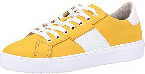 Tamaris dames sneakers geel