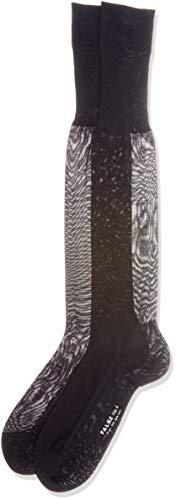 FALKE Herren No. 4 Pure Silk Socken, Dark Navy, 47-48