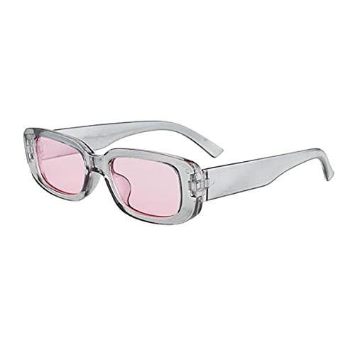 Zhou-YuXiang Gafas de Sol Personalizadas Retro de Marco pequeño Europeo y Americano de Moda polarizadas de Alta definición