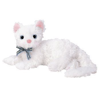5Star-TD TY Beanie Baby - STARLETT The White Cat [Toy]