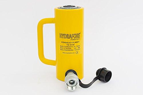HYDRAFORE Einzelwirkender Hydraulikzylinder (10 Ton 100 mm)
