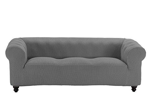 Martina Home Funda Multiélastica para sofá Chester modelo Chipre , Tela, 3 Plazas - color Gris Perla