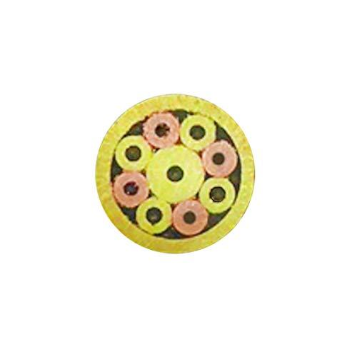 Spille a mosaico per manico di coltelli Coltelli personalizzati Bilance vuote Manopole Lame, ottone rame acciaio inossidabile per coltelli da tasca pieghevoli EDC Pin, 9.5cm (5mm)